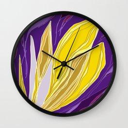 Leaflet's Descent Wall Clock