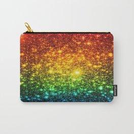 RainBoW Sparkle Stars Carry-All Pouch