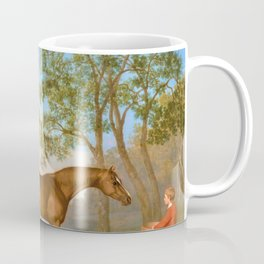 Pumpkin With A Stable-lad - George Stubbs Coffee Mug