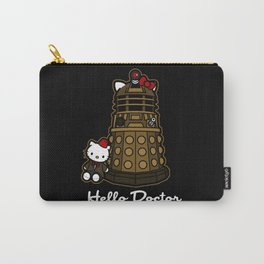 Hello Doctor Who Carry-All Pouch