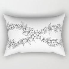 Forever a hippie Rectangular Pillow