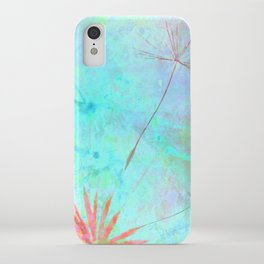 Paint A Dandelion iPhone Case