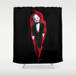 Homage to Profondo rosso Shower Curtain