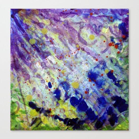 Transparent war of Color's V1 Canvas Print