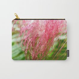 Pink Costa Rican Flower Carry-All Pouch