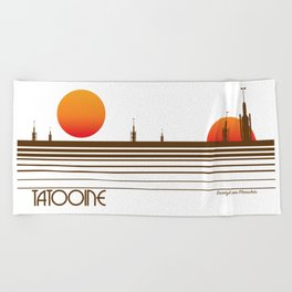 Tatooine Beach Towel