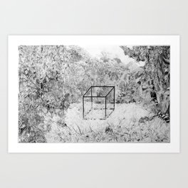 The Precipice of Man Art Print