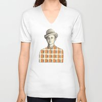 robert farkas V-neck T-shirts featuring Robert by Rins