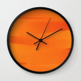 Laces of color I Wall Clock