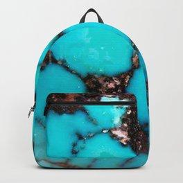 Macro Turquoise Backpack