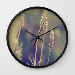 Lavandas  Wall Clock