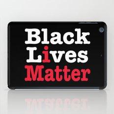 BLACK LIVES MATTER (inverse version) iPad Case