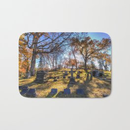 Sleepy Hollow Cemetery New York Bath Mat