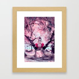 According to my jealousy Framed Art Print