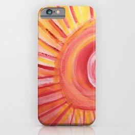 Set the Tone, Sunshine iPhone Case