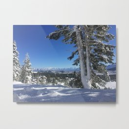 Mammoth Mountain Metal Print