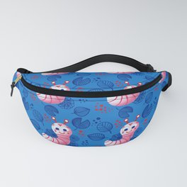 Cheerful caterpillars Fanny Pack