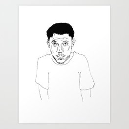 Hodgy Beats Art Print