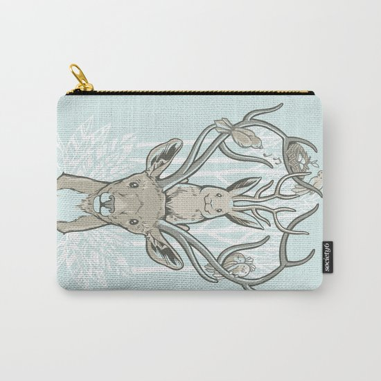 Friends & Birds Carry-All Pouch