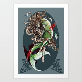 Christmas in Blood: PF 2013 Art Print