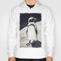 penguin Hoodies featuring Penguin  by Light Wanderer