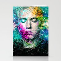 rap Stationery Cards featuring Rap God by Raditya Giga