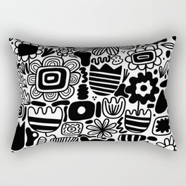 Through the garden Rectangular Pillow