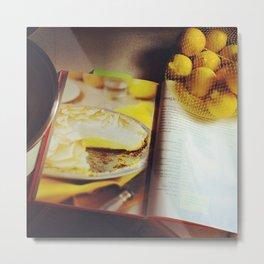 Lemon Meringue Pie Metal Print