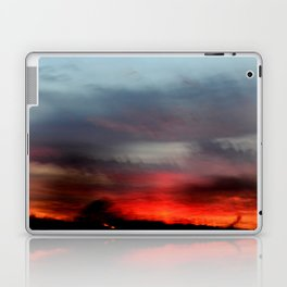 Night Lights Moving Sunset 20 Laptop & iPad Skin
