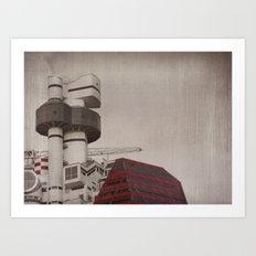 Lipstick Building Art Print