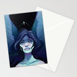 Starry Angel Stationery Cards