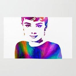 Audrey Hepburn (8) Rug