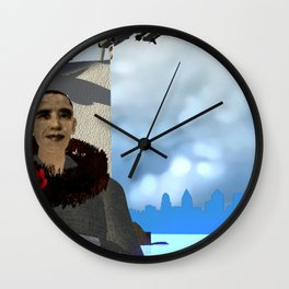 Fly:Let's Catch the Fly Wall Clock