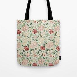 William Morris Cray Floral Pre-Raphaelite Vintage Art Nouveau Pattern Tote Bag