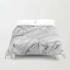 Carrara Marble Duvet Cover
