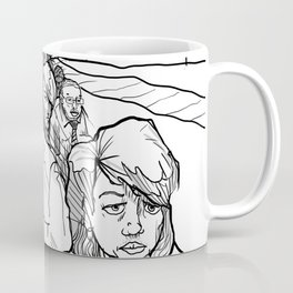 People in Middling City Coffee Mug