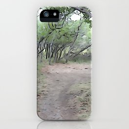 Quiet Place iPhone Case
