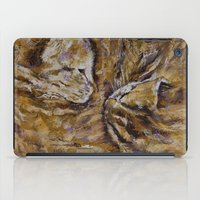 kittens iPad Cases featuring Sleeping Kittens by Michael Creese