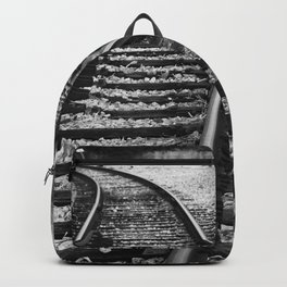 Railroad Perspective Backpack