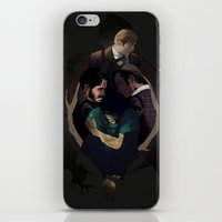hannibal iPhone & iPod Skins featuring Hannibal by Valachhim