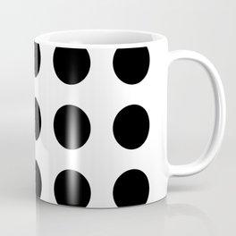 Simply Black Dots Coffee Mug