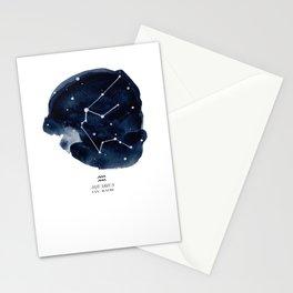 Zodiac Star Constellation - Aquarius Stationery Cards