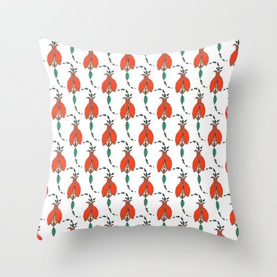 Tulip Dress Throw Pillow