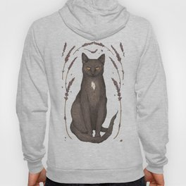 The Cat and Lavender Hoody