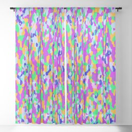 Abstract Z 9 Sheer Curtain