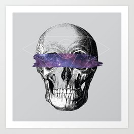 Don't Look // Anatomy x Geometry Art Print