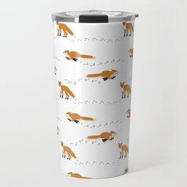 Fox Tracks Travel Mug