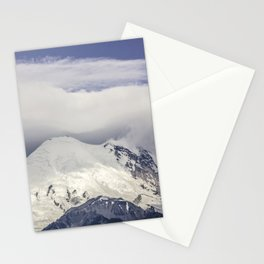 Mountain Top of Mt Rainier Stationery Cards