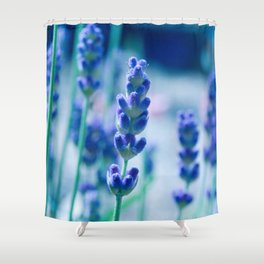 A Touch of blue - Lavender #1 Shower Curtain