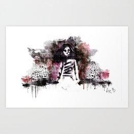 Soldados muertos (color version) Art Print